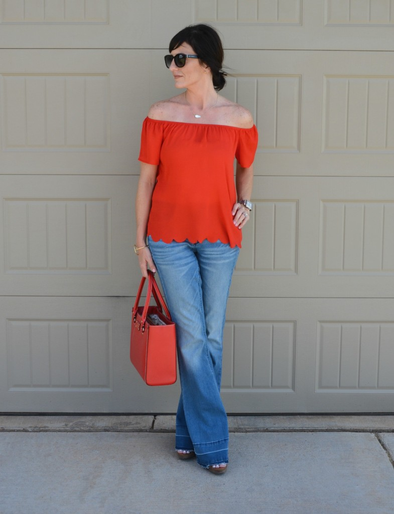 Casual Friday Link Up with Target, Francescas and Kate Spade by Two Thirty~Five Designs