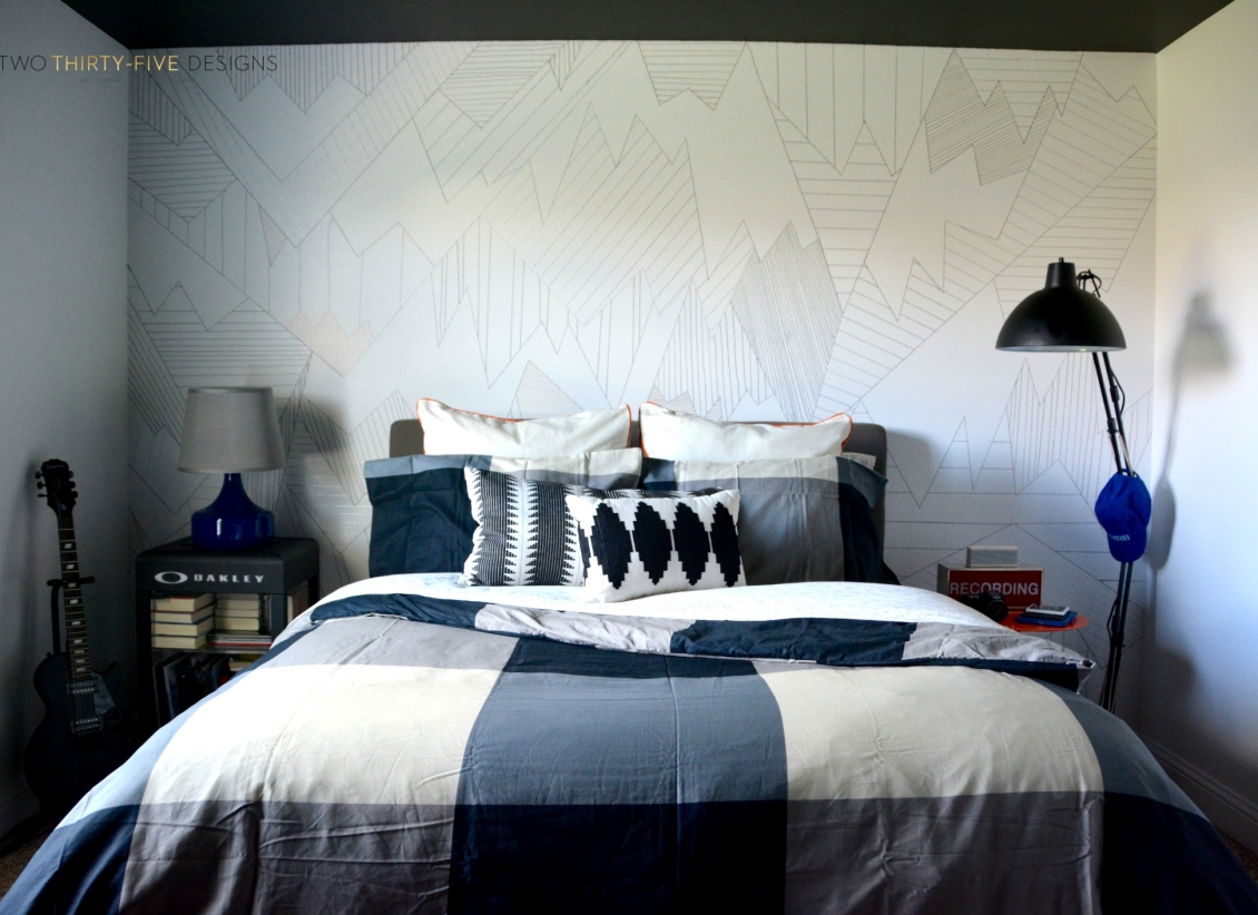 DIY Sharpie Wall Art by Two Thirty~Five Designs