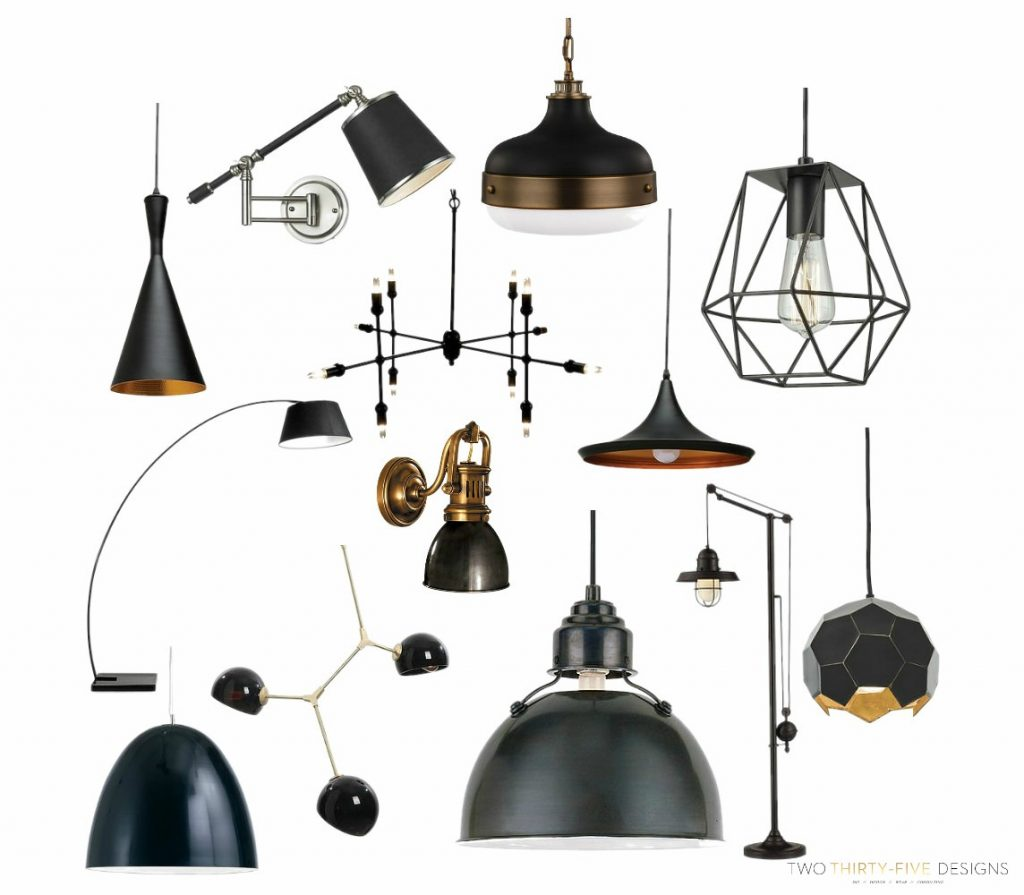 Modern Industrial Lighting by Two Thirty~Five Designs