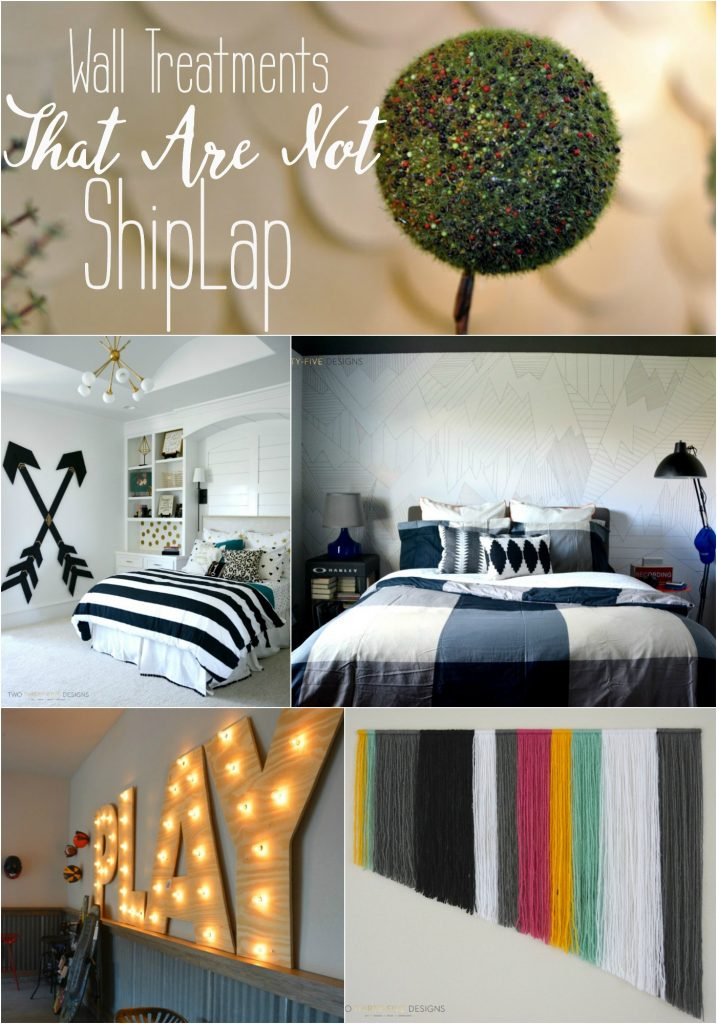 Wall Treatments That Are Not Shiplap