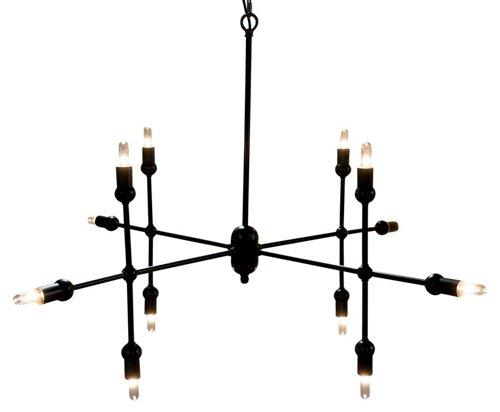 crossover pendant, bronze, modern indutrial lighting