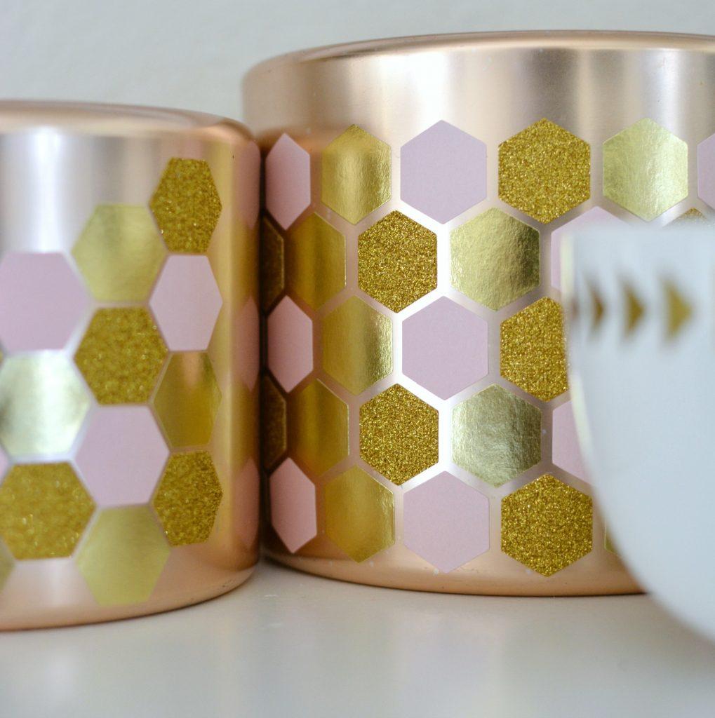 DIY Geometric Copper Pots 3