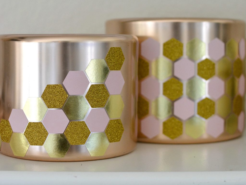 DIY Geometric Copper Pots 4