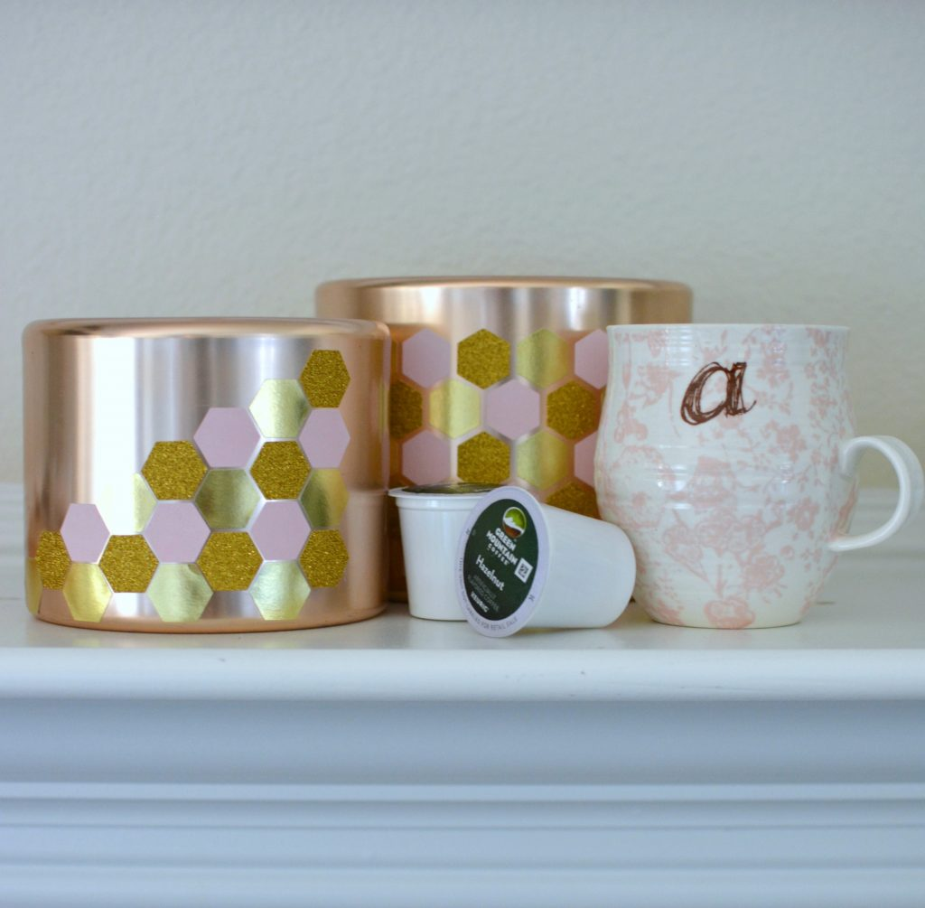 DIY Geometric Copper Pots 5