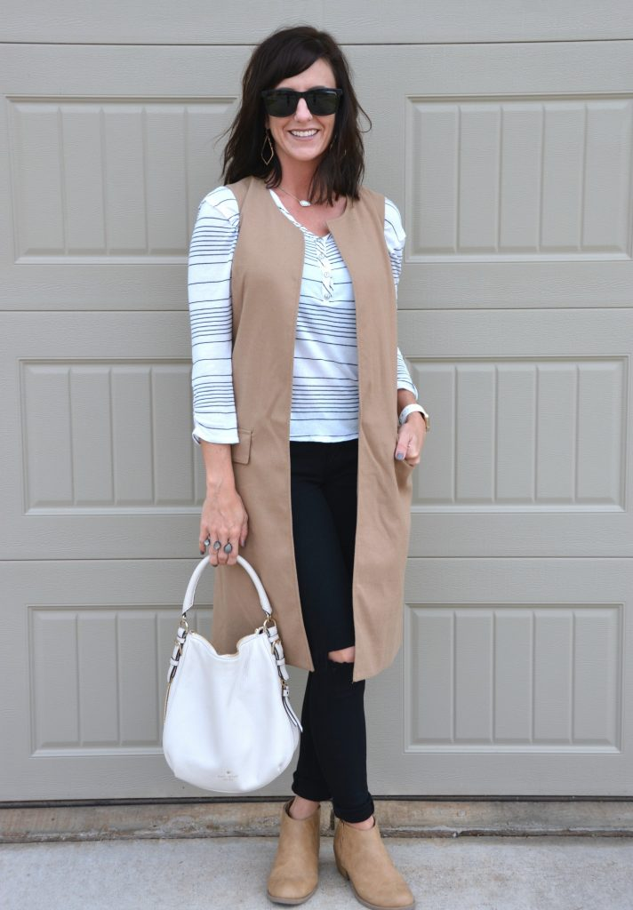 Casual Friday Link Up by Two Thirty~Five Designs Sleeveless Blazers