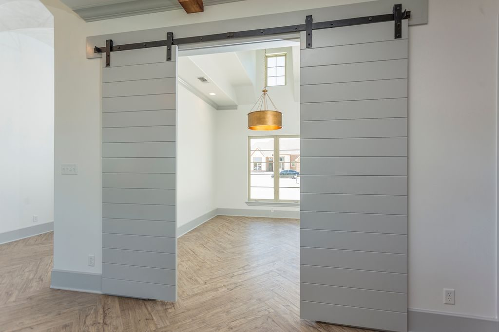 Enclave Court Home Tour, Barn Doors by Two Thirty Five Designs