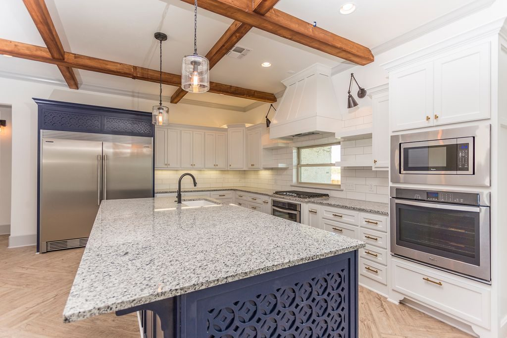 Enclave Court Home Tour Kitchen Cabinets by Two Thirty Five Designs