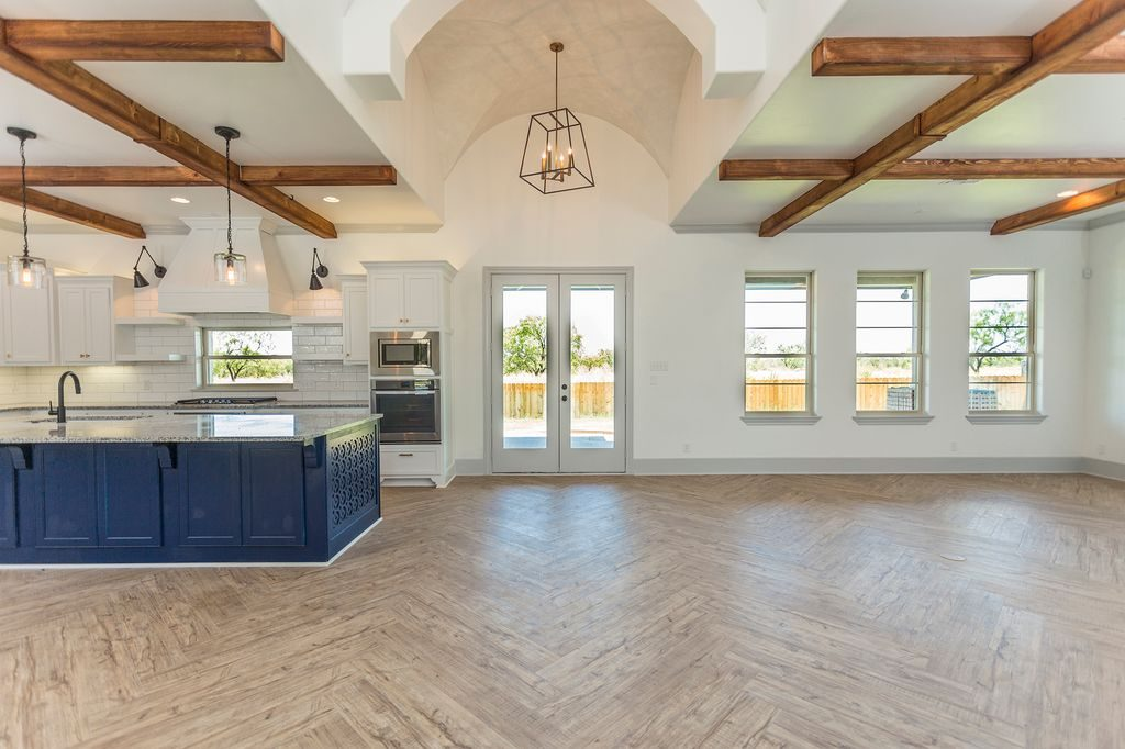 Enclave Court Home Tour, Kitchen and Living by Two Thirty Five Designs 3