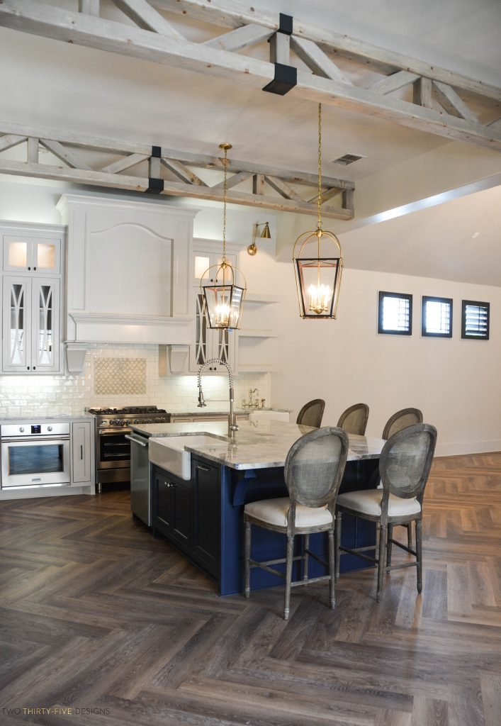 Rustic French Kitchen by Two Thirty Five Designs 11
