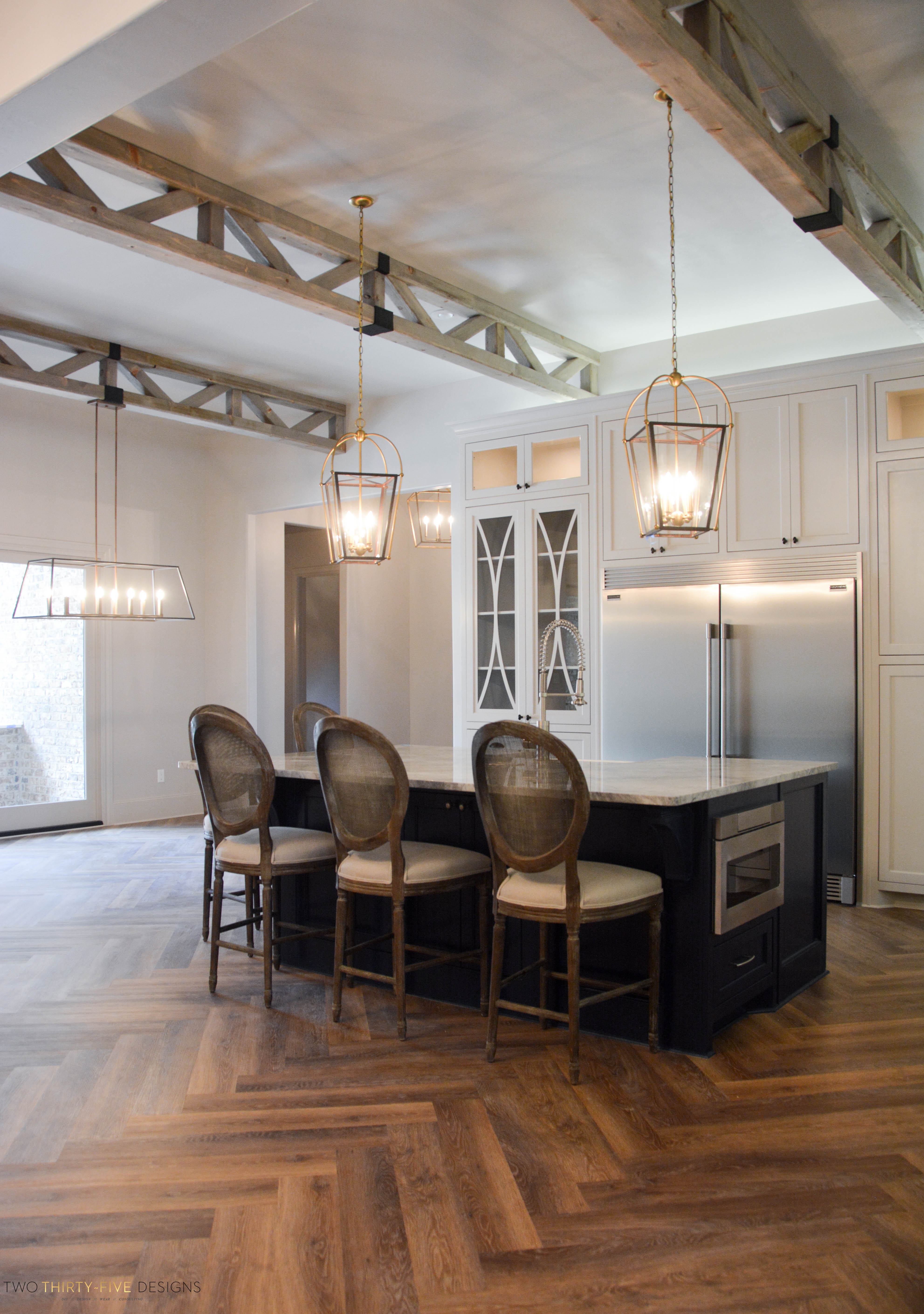 ... Rustic French Kitchen By Two Thirty Five Designs 2