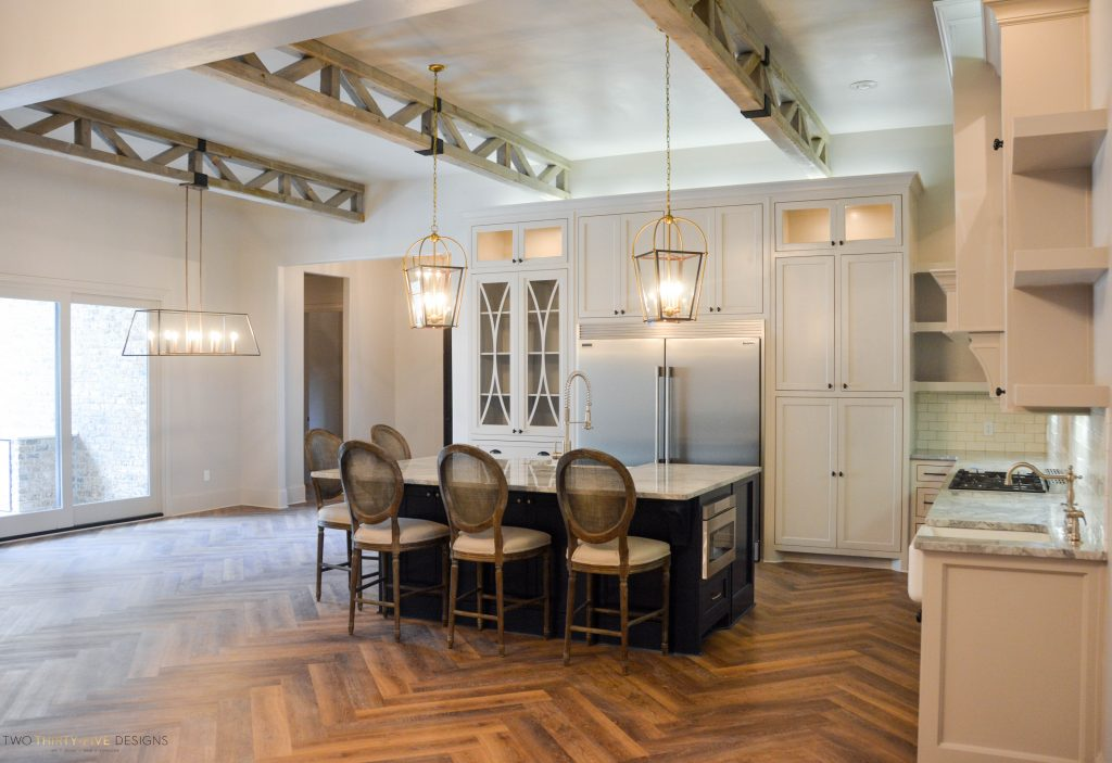 Rustic French Kitchen by Two Thirty Five Designs 3