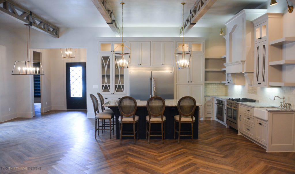 Rustic French Kitchen by Two Thirty Five Designs 4