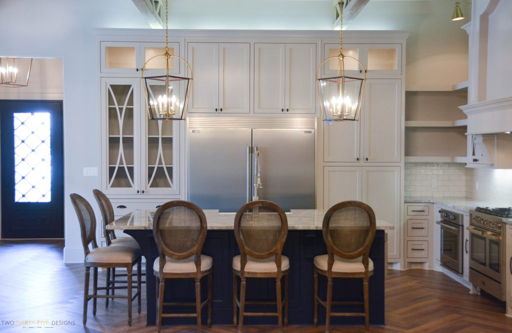 Rustic French Kitchen by Two Thirty Five Designs 5