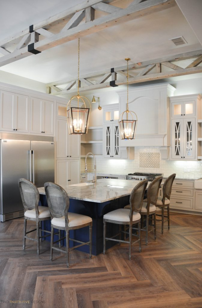 Rustic French Kitchen by Two Thirty Five Designs 8