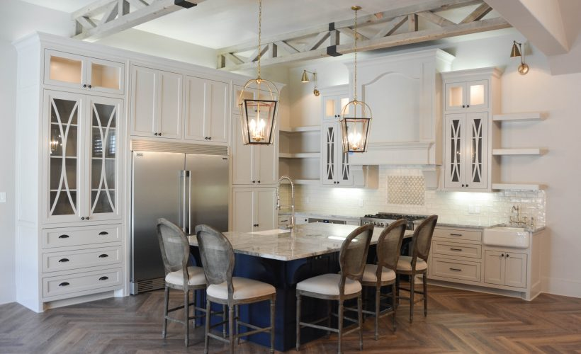 Rustic French Kitchen by Two Thirty Five Designs 9