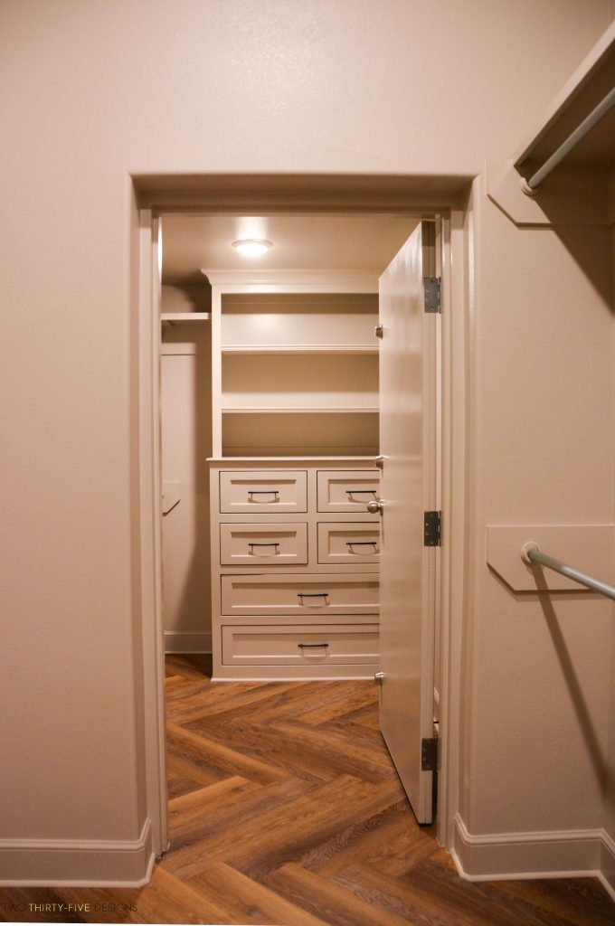 Rustic French Safe Room by Two Thirty Five Designs