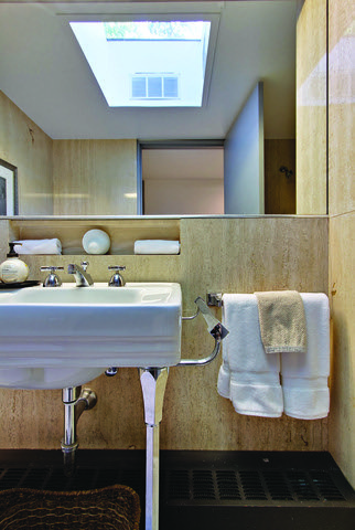 Ferris Buellers Mid Century Bathroom by Two Thirty Five Designs