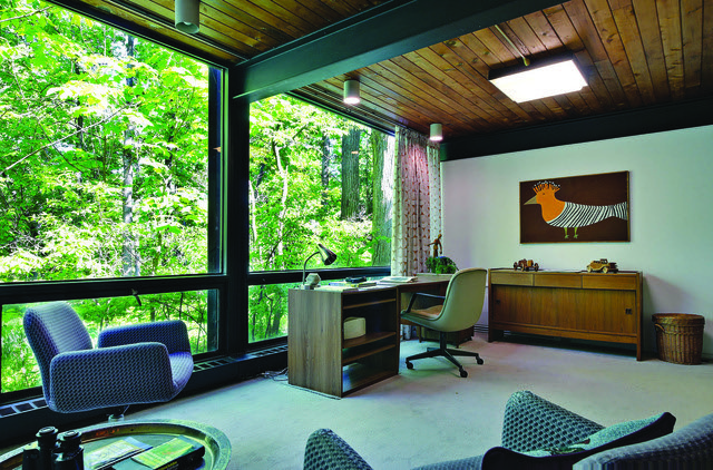 Ferris Buellers Mid Century Office by Two Thirty Five Designs