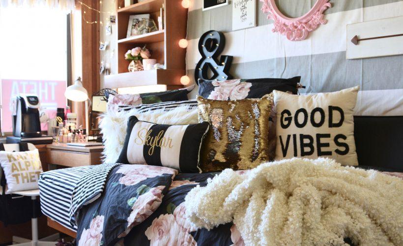 Texas Tech Chitwood Dorm Room Makeover  (2 of 28)