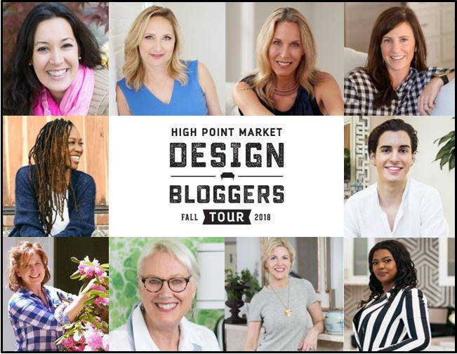 High Point Design Bloggers Fall 2018